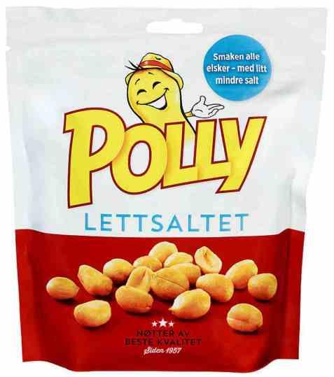 Bilde av Polly peanøtter lettsaltet 300 gr.