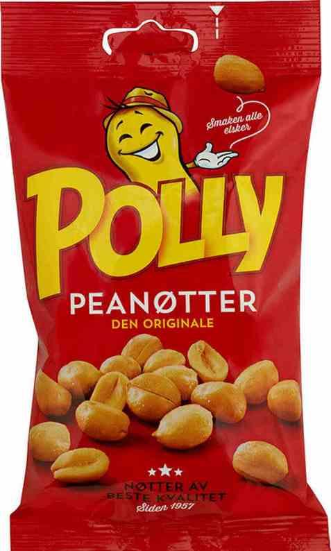 Bilde av Polly peanøtter salte 165 gr.