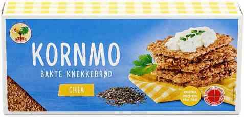 Bilde av Sætre kornmo knekkebrød chia.