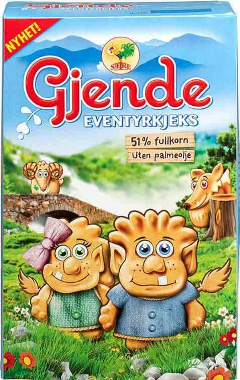 Bilde av Sætre Gjende eventyrkjeks.