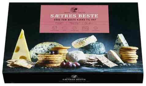Bilde av Sætres 5 beste kjeks til ost.