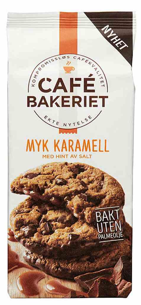 Bilde av Sætre cafe bakeriet myk karamell.