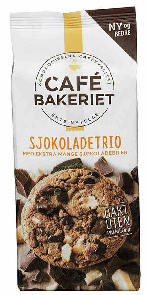 Bilde av Sætre cafe bakeriet sjokoladetrio.