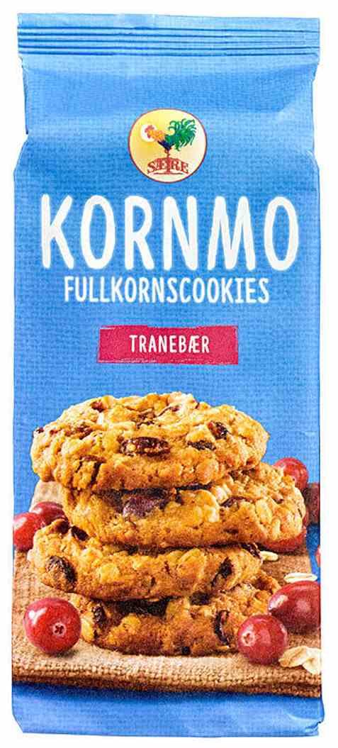 Bilde av Sætre kornmo cookies fullkorn og tranebær.