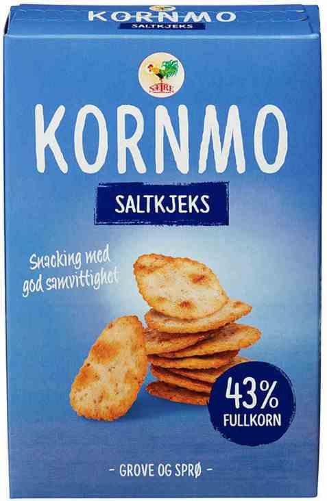 Bilde av Sætre kornmo salt kjeks.