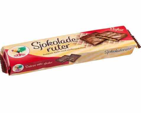 Bilde av Sætre Sjokoladeruter.