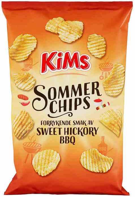 Bilde av Kims sommerchips sweet bbq.
