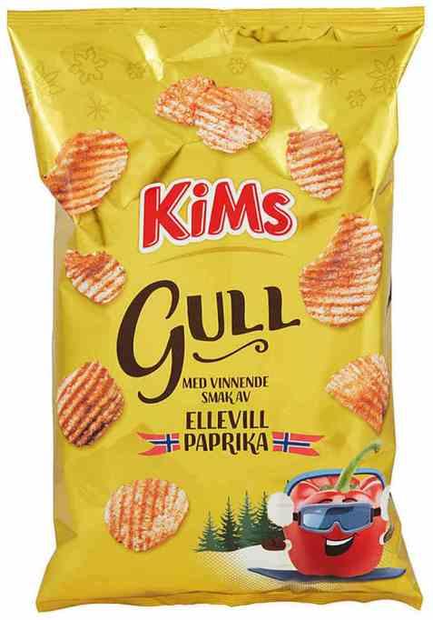 Bilde av Kims potetgull ellevill paprika.
