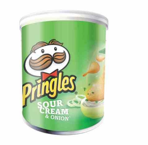 Bilde av Pringles sour cream and onion 40 gr.
