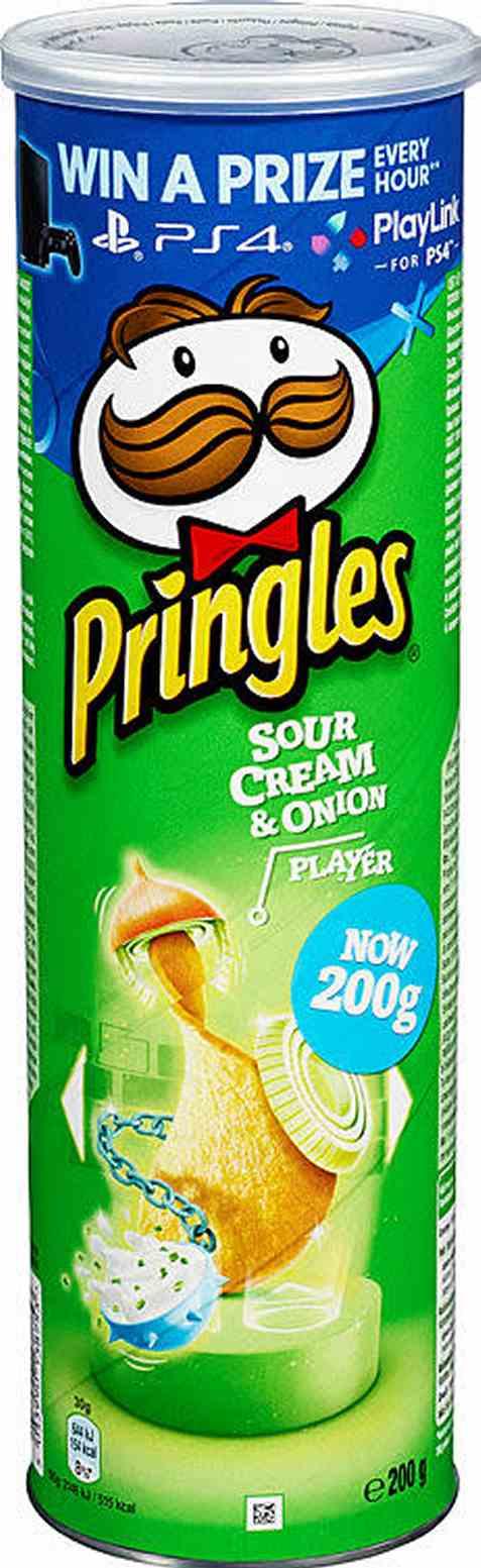 Bilde av Pringles sour cream and onion 200 gr.