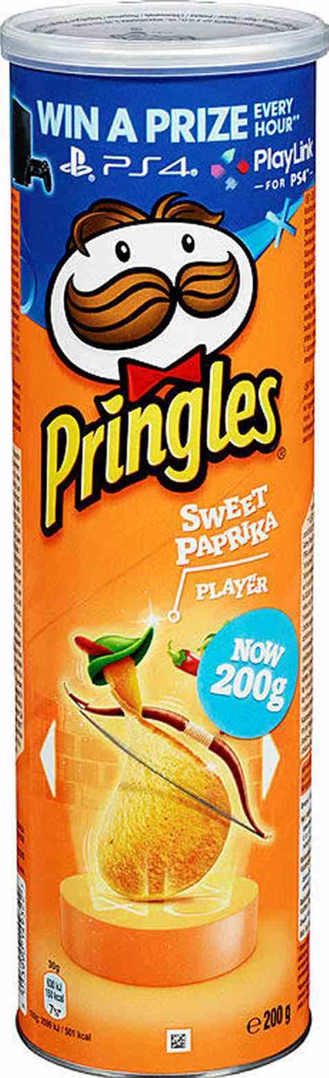 Bilde av Pringles paprika 200 gr.