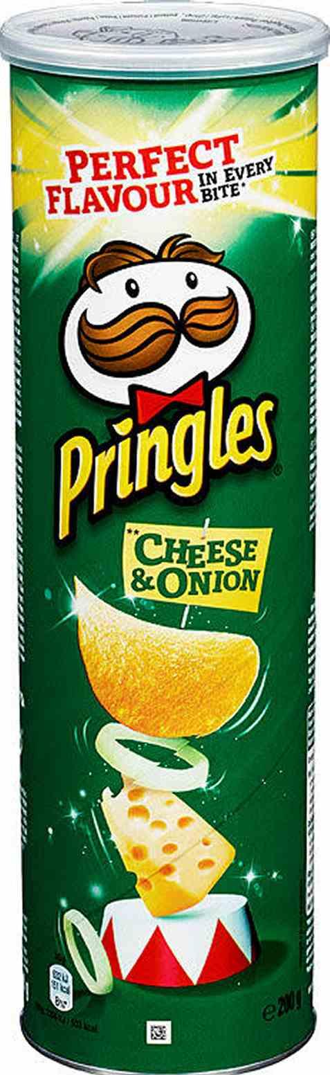 Bilde av Pringles cheese and onion 200 gr.