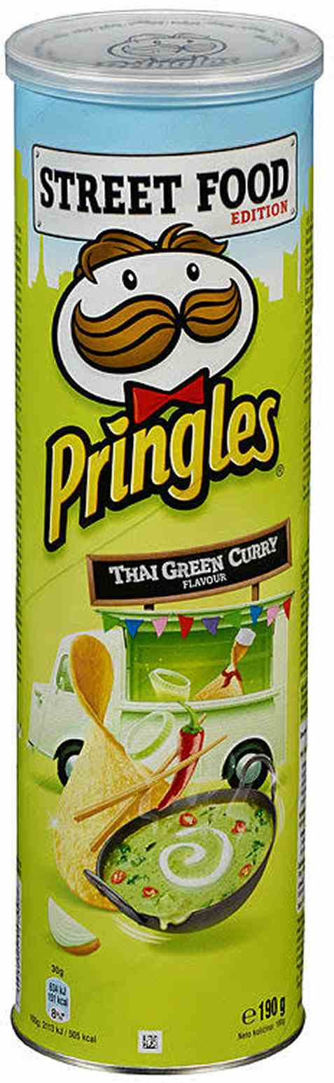 Bilde av Pringles thai green curry 190 gr.