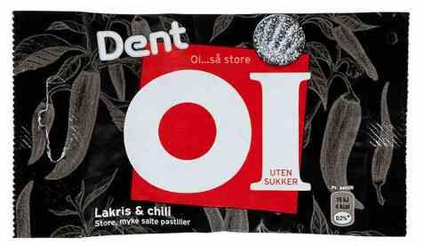 Bilde av Dent Oi lakris og chili.