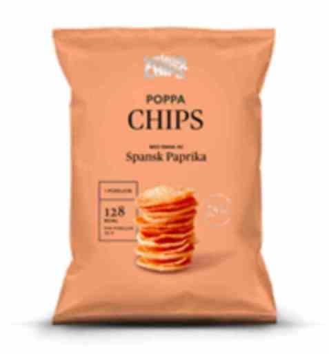 Bilde av Sørlandschips poppa chips spansk paprika.