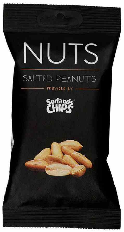 Bilde av Sørlandschips peanøtter saltet.