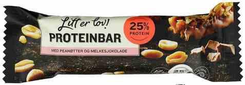 Bilde av Sørlandschips litt er lov proteinbar.
