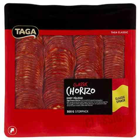 Bilde av Taga classic chorizo 500 gr.