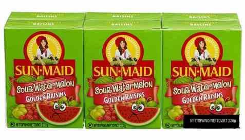 Bilde av Sun-maid rosiner sour watermelon 37,7 gr.
