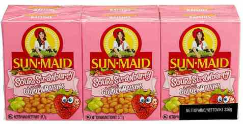 Bilde av Sun-maid rosiner sour strawberry 37,7 gr.