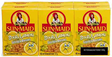 Bilde av Sun-maid rosiner sour lemon 37,7 gr.
