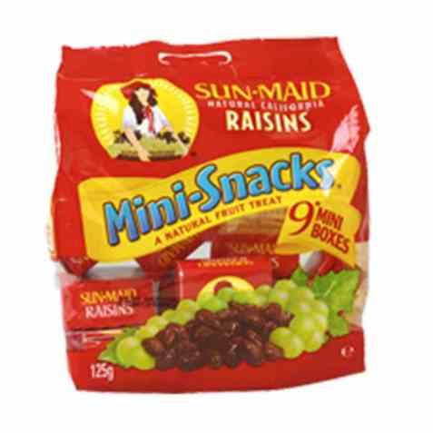 Bilde av Sun-maid rosiner minis 125 gr.