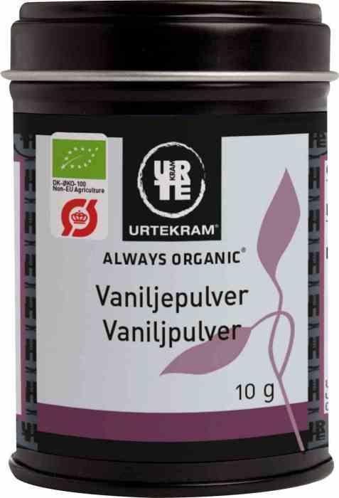 Bilde av Urtekram vaniljepulver.