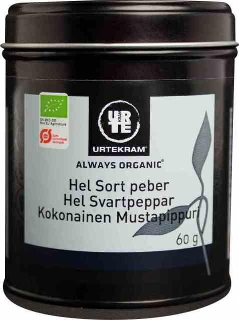 Bilde av Urtekram sort hel pepper.