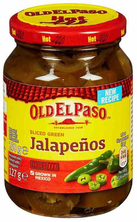 Bilde av Old El Paso Jalapeños-250-gr.