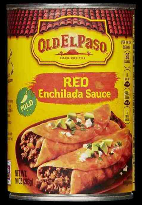 Bilde av Old el paso Enchilada saus.