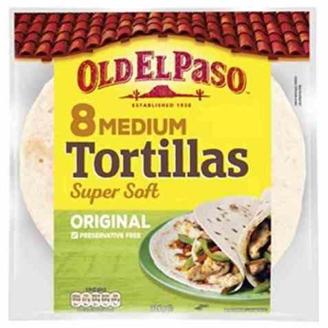 Bilde av Old El Paso Tortilla original medium.