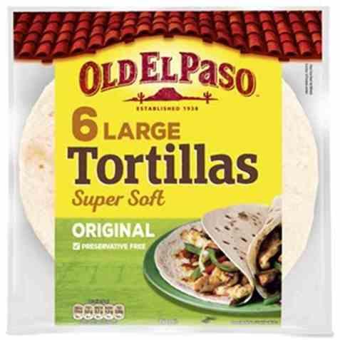 Bilde av Old El Paso Tortilla original large 350 gr.