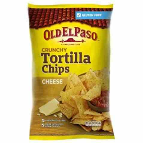 Bilde av Old El Paso Crunchy Tortillachips Cheese.