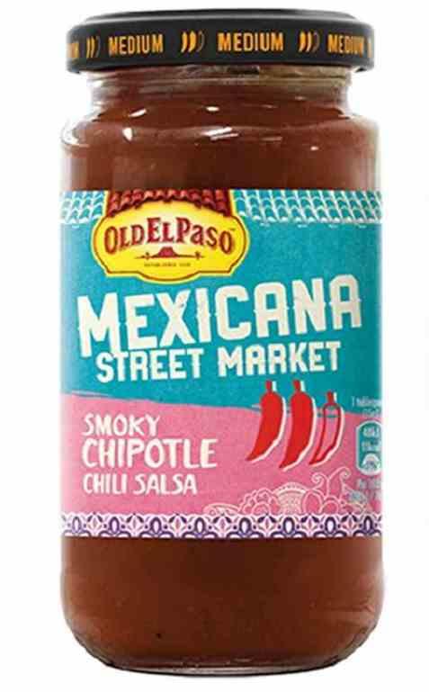 Bilde av Old El Paso Mexicana Smoky Chipotle Salsa.