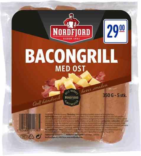 Bilde av Nordfjord bacongrill med ost.