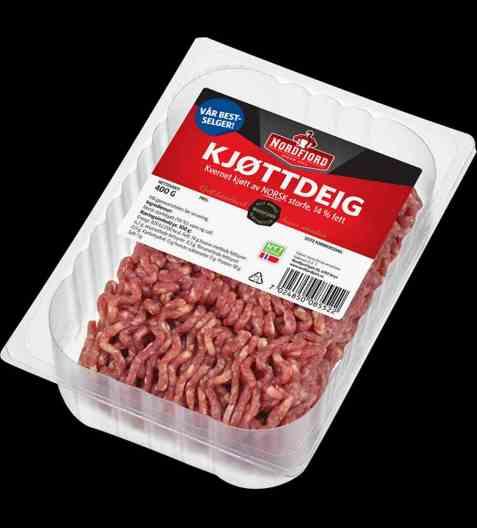 Bilde av Nordfjord kjøttdeig av storfe 14 prosent.