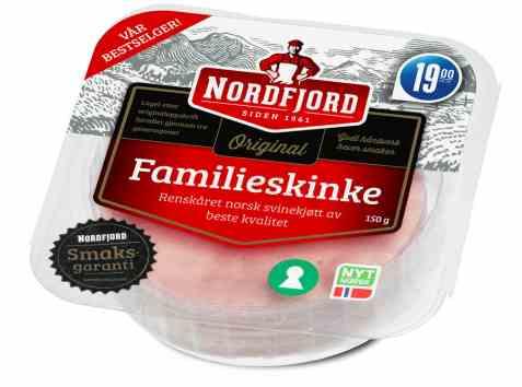 Bilde av Nordfjord familieskinke 150 gr.
