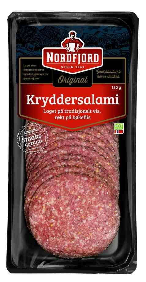 Bilde av Nordfjord kryddersalami.