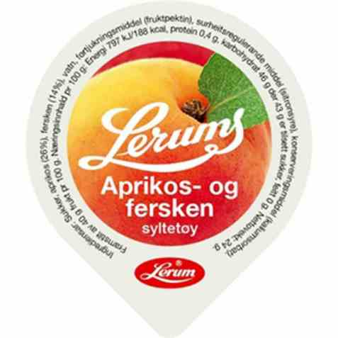 Bilde av Lerum aprikossyltetøy kuvert.