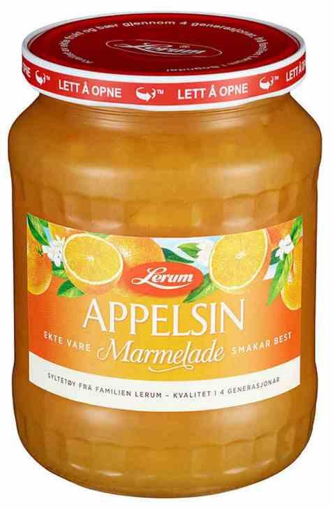 Bilde av Lerum Appelsinmarmelade 840 gr.
