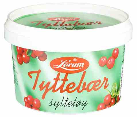 Bilde av Lerum tyttebærsyltetøy 600 gr.