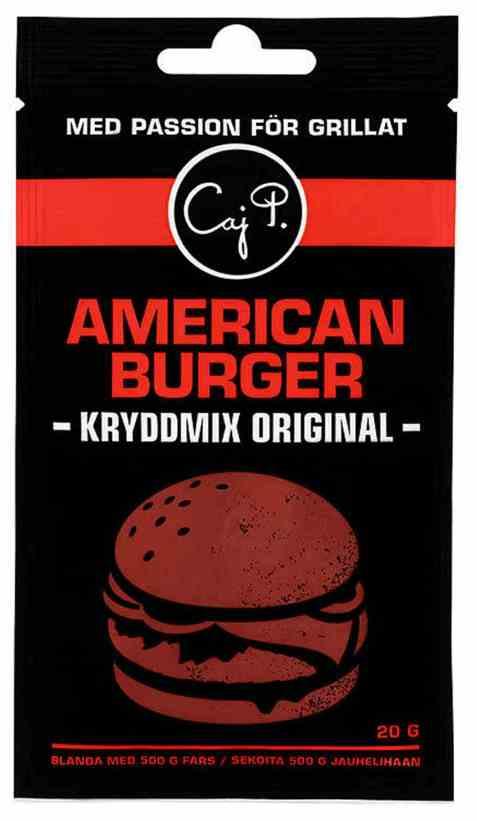 Bilde av Caj P. kryddermix burger original.