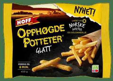 Bilde av Hoff Opphøgde Potteter glatt.