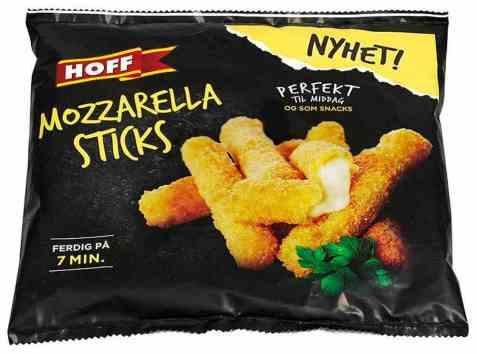 Bilde av Hoff mozzarella sticks.