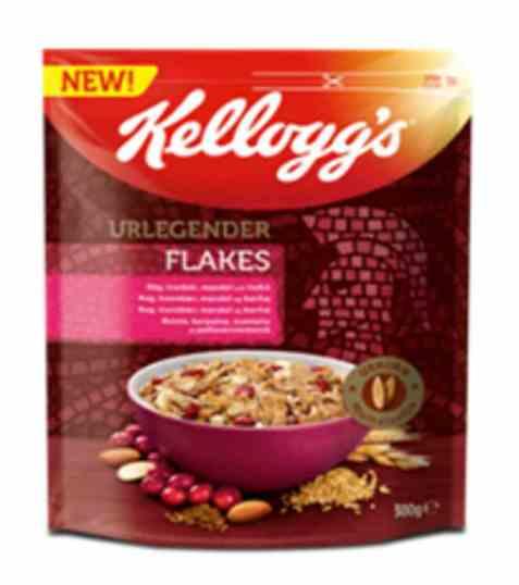 Bilde av Kelloggs urlegender spelt flakes.