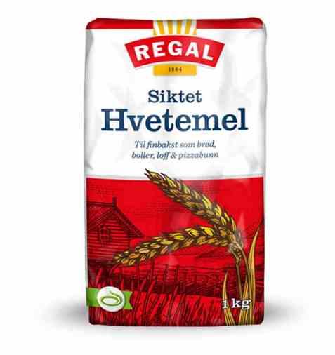 Bilde av Regal Siktet hvetemel 1 kg.
