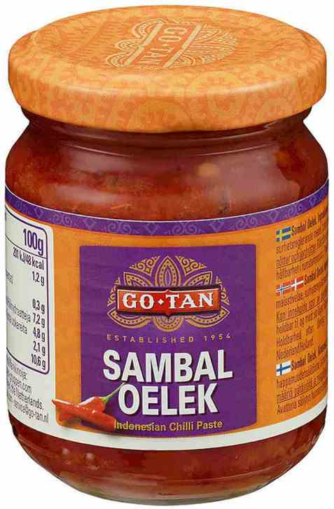 Bilde av Go-tan Sambal Oelek chili paste.