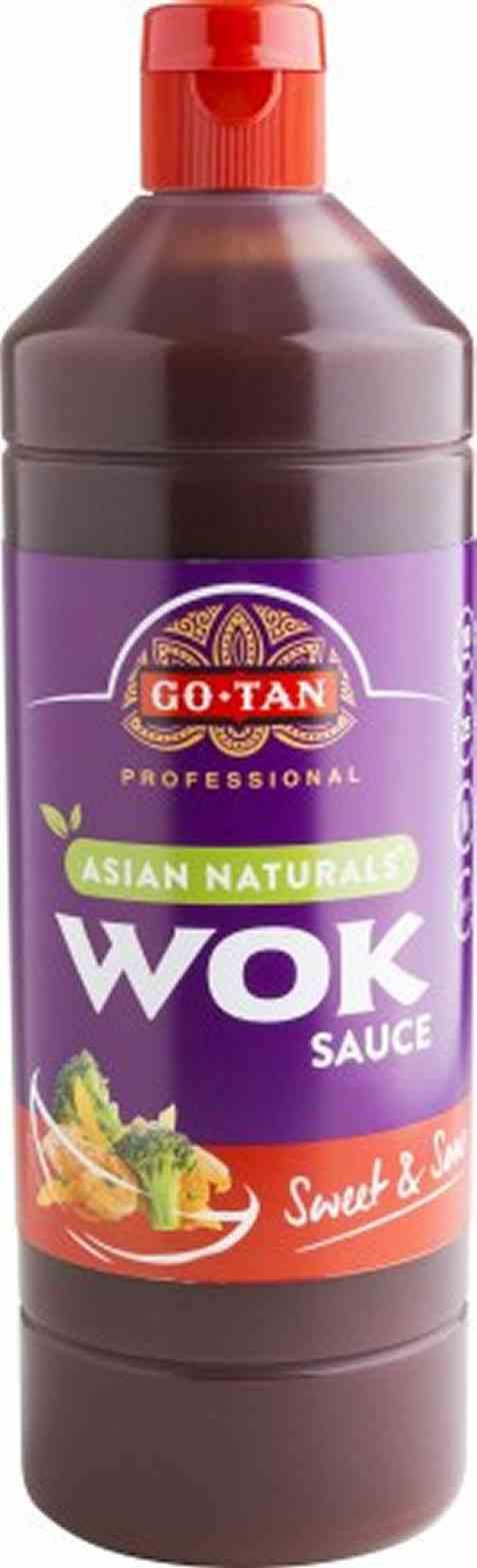 Bilde av Go-tan Asian Naturals Woksaus Sweet and Sour 1 liter.