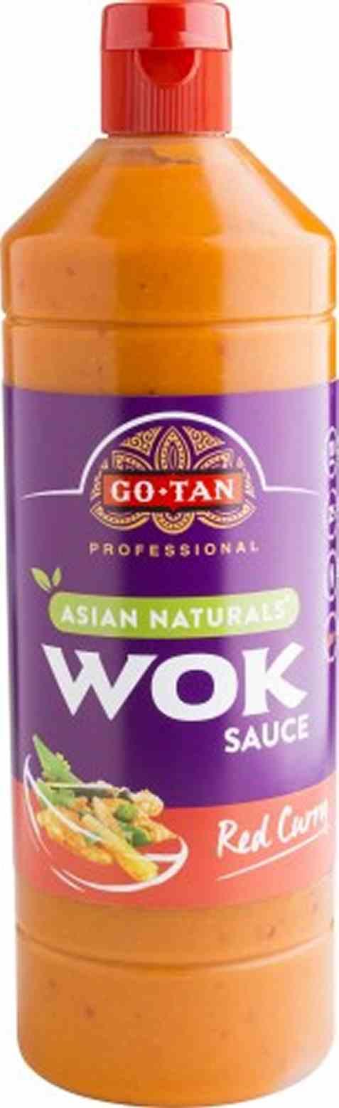 Bilde av Go-Tan asian naturals Woksaus Red Curry 1 liter.