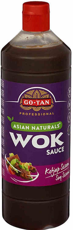 Bilde av Go-tan Asian Naturals woksaus Ketjap sesam 1 liter.